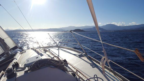 Traversee en mer